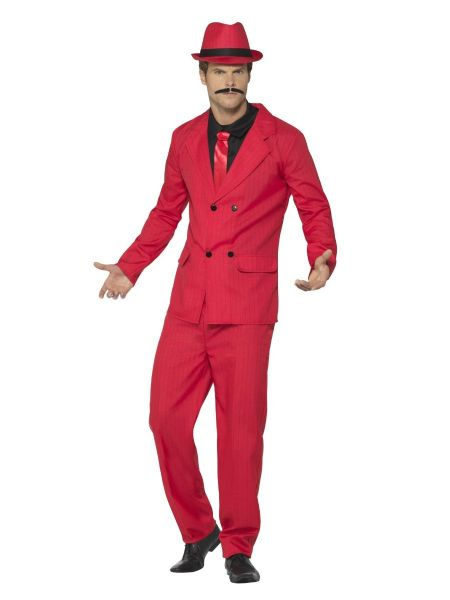 Red Zoot Suit